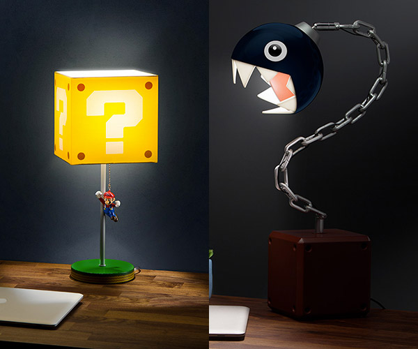 ThinkGeek Super Mario Bros. Lamps