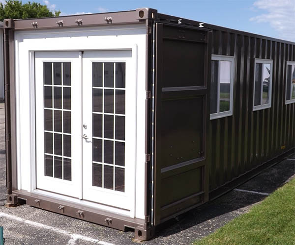 Tiny Shipping Container House