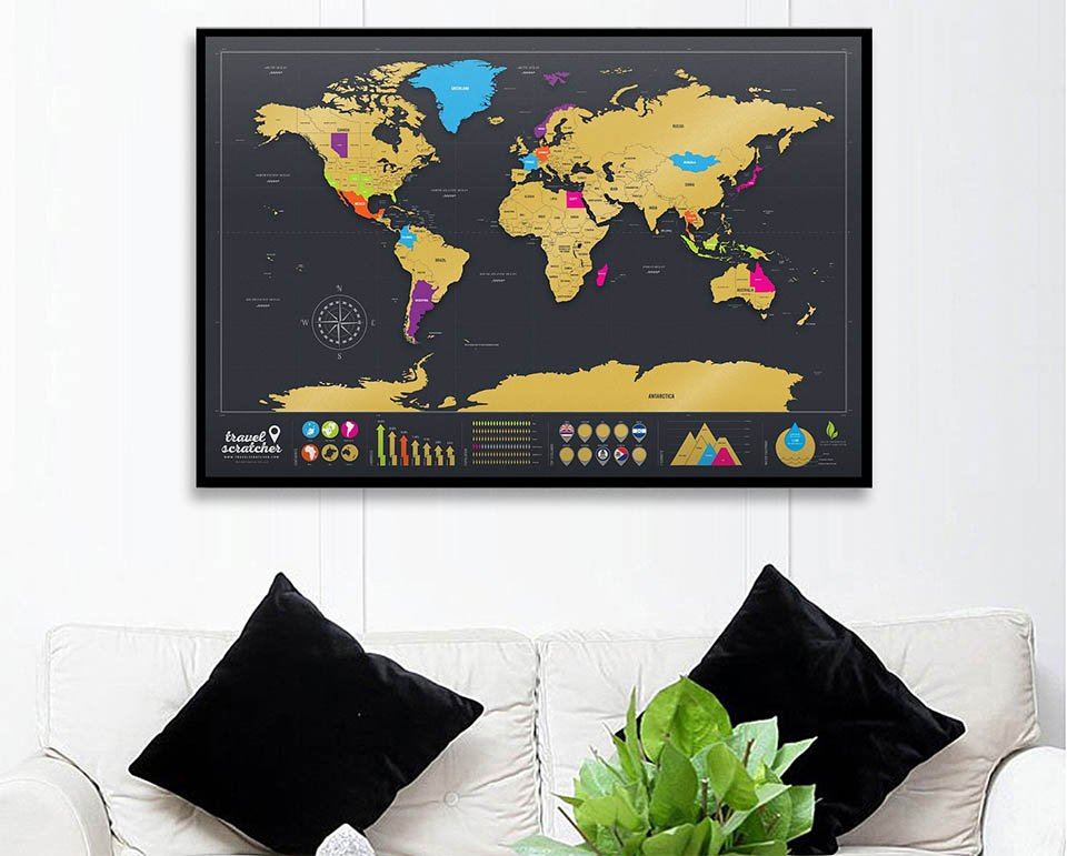 TravelScratcher World Map