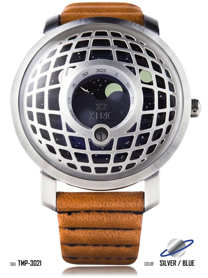 Xeric Trappist-1 Moonphase Watch