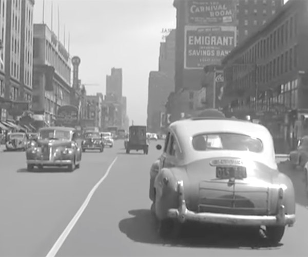 "1945 ""Dashcam"" Footage"