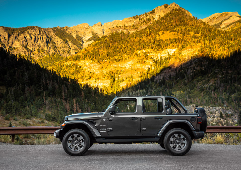 Classic Details And Modern Amenities Meet In The 2018 Jeep