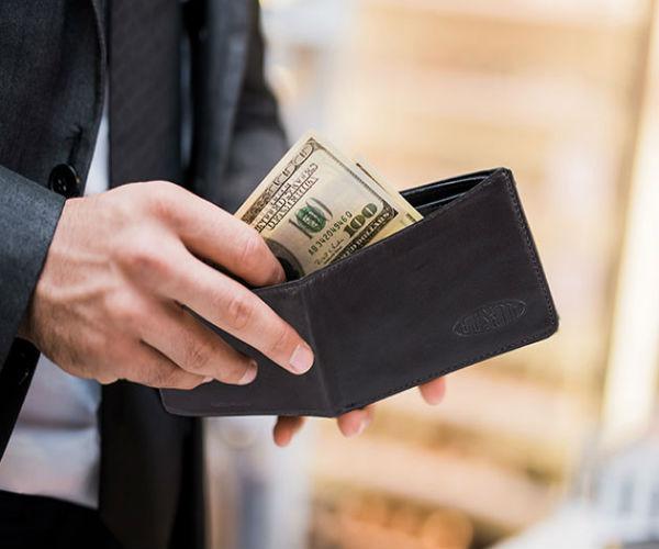 Deal: Leather Bi-Fold Wallet