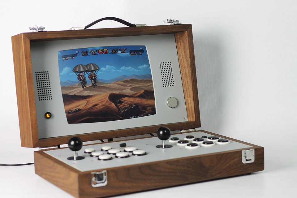 Cary42 Portable Retro Arcade
