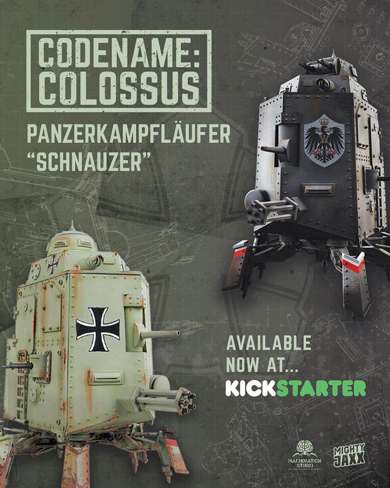 Codename Colossus Schnauzer