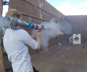 Colin Furze vs. Washing Machine
