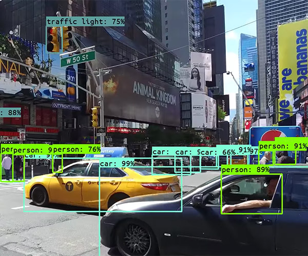 Computer Vision Sees Times Square