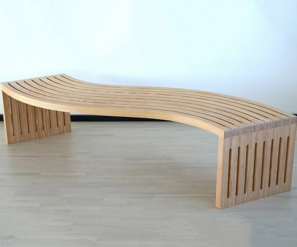 Making a Curved Bench