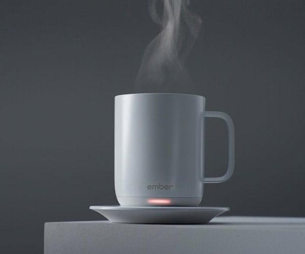 Ember Ceramic Heated Mug