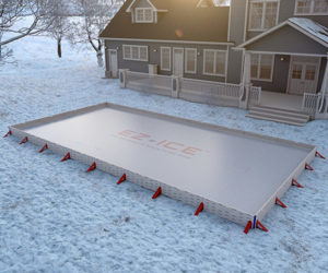 EZ Ice Outdoor Rink Kit