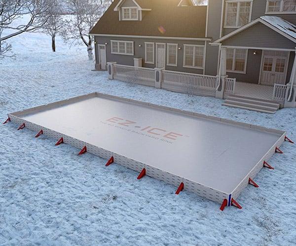 EZ Ice Outdoor Rink Kit