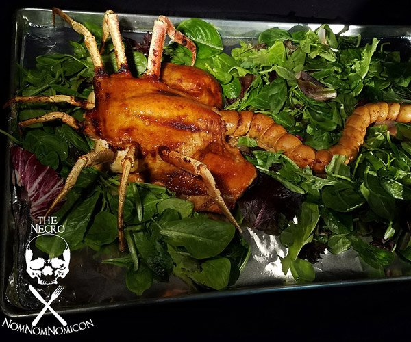Facehugger Roasted Chicken