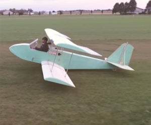 Homebrew Electric Plane