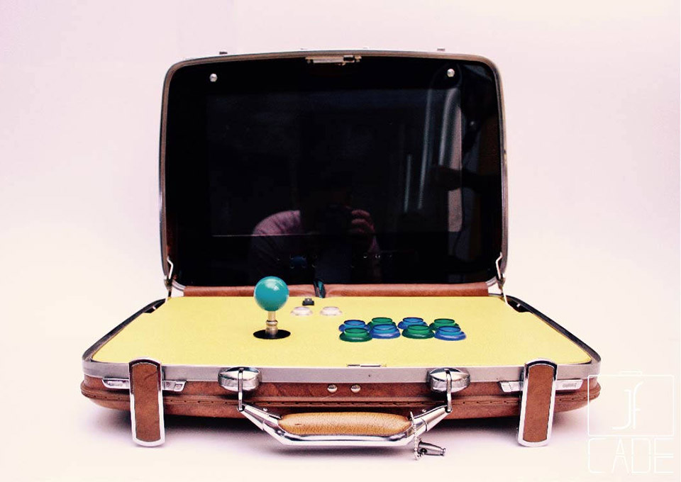 JFCADE Arcade Briefcases