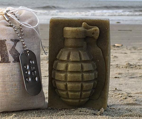 K Bar Grenade Soaps