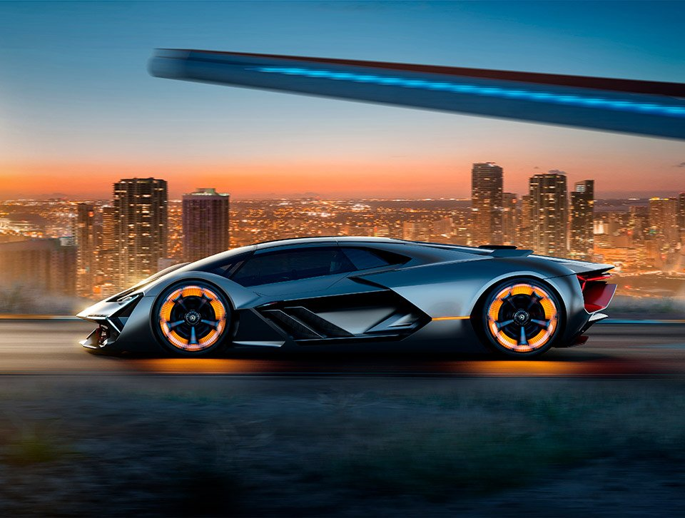 lamborghini and mit look to the electric future with the terzo millennio concept. Black Bedroom Furniture Sets. Home Design Ideas