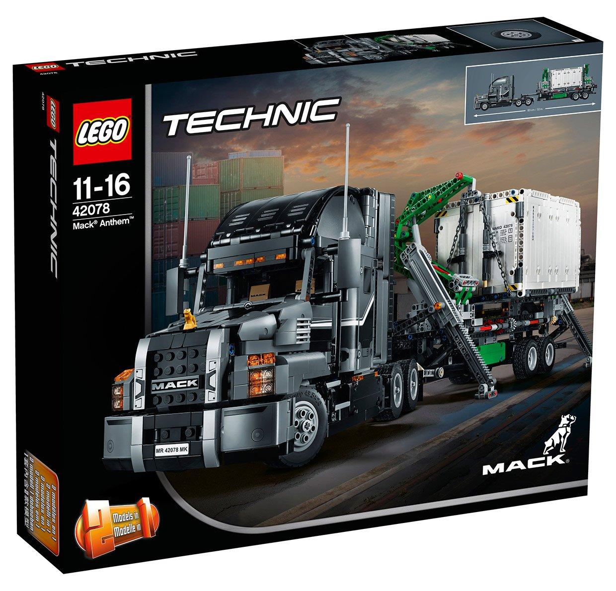 Luxury Tech Gifts Lego Technic Mack Anthem