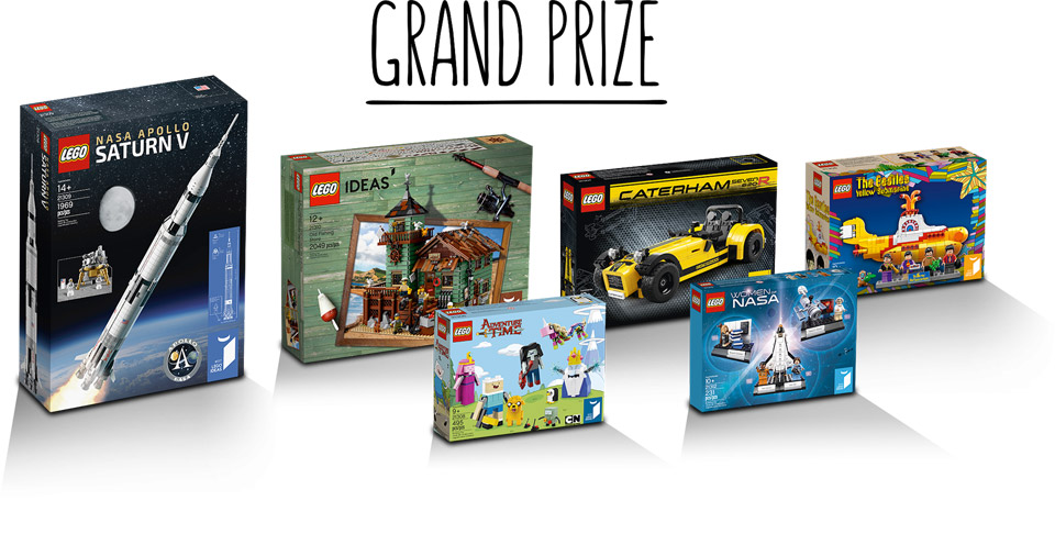 LEGO Ideas Logo Contest