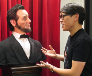 Lifelike Animatronic Abraham Lincoln