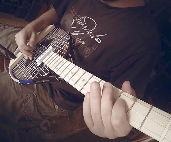 Tennis Racket Guitar