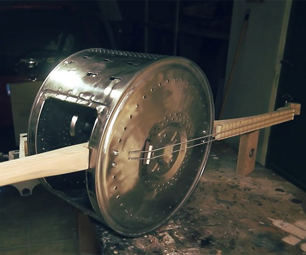 DIY Washing Machine Bass