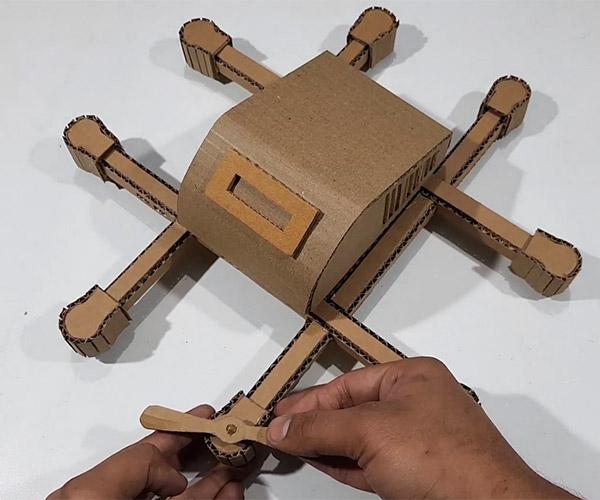 Making a Cardboard Drone