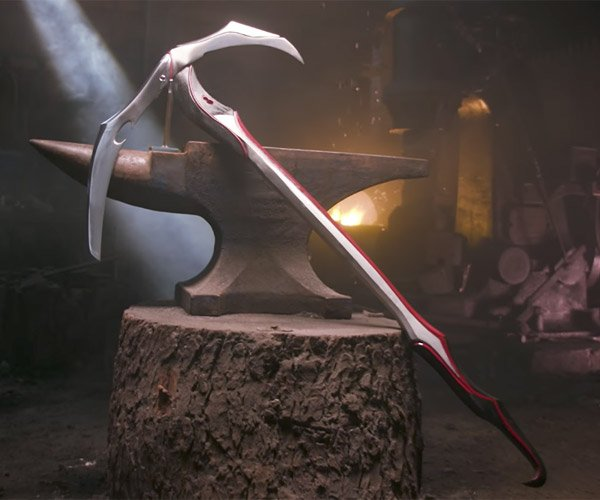 Making Warframe's Hate Scythe