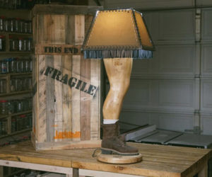 A Christmas Story Manly Lamp