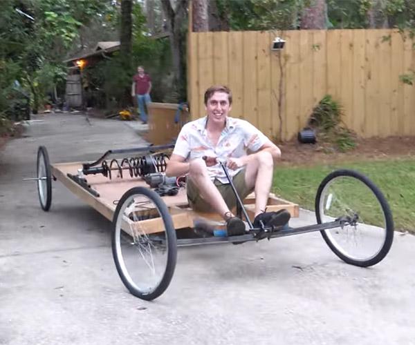 Giant Mousetrap Car