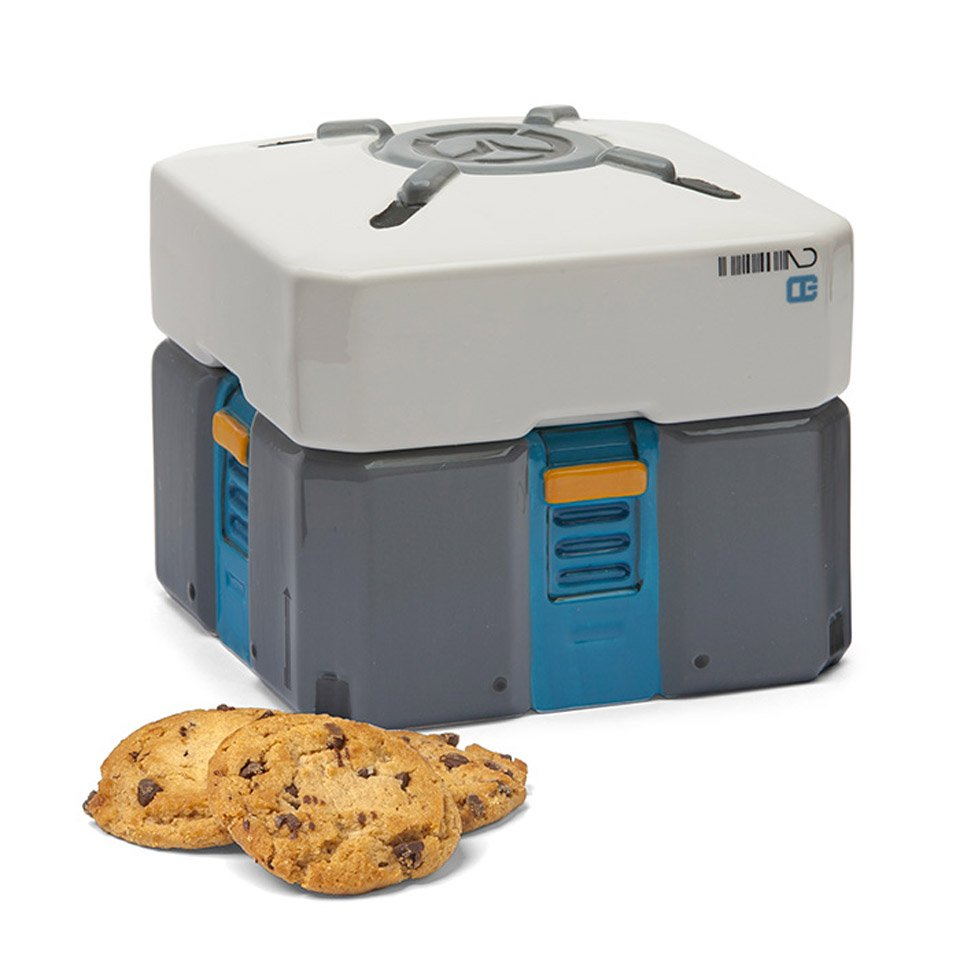 Overwatch Loot Box Cookie Jar
