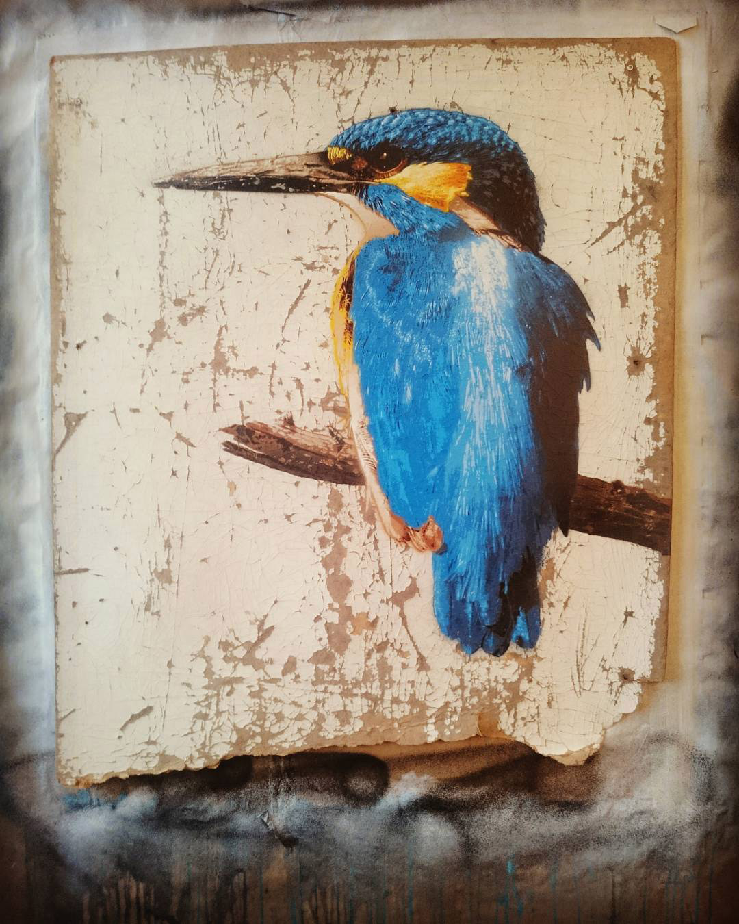 Photorealistic Stencil Painting