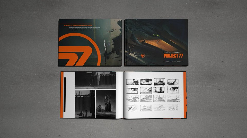 Project 77 Art Book