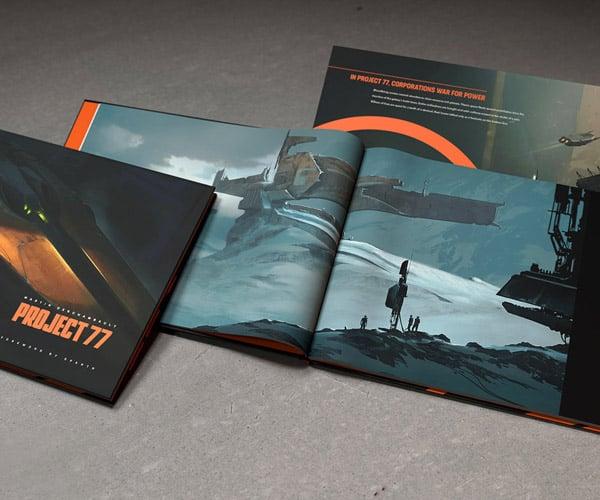 Project 77 Art Book