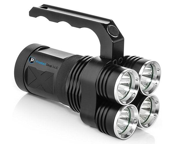 Quad-Beam LED Flashlight