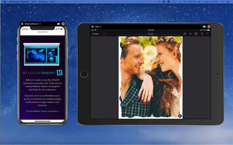 Mirror Your Mobile Device's Screen to Larger Displays with