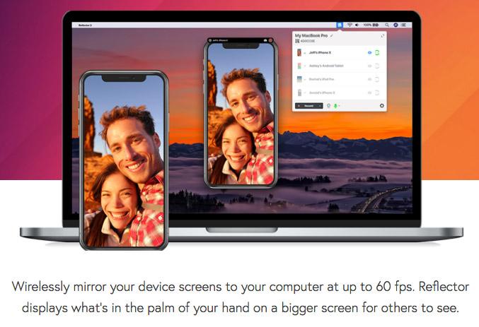 Reflector 3 Mirroring App