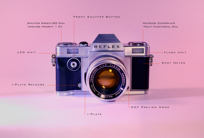 Reflex 35mm SLR Camera