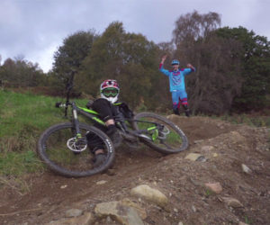 Relearning Downhill Mountain Biking