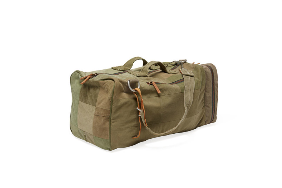 Remanufactured Backpack Duffle
