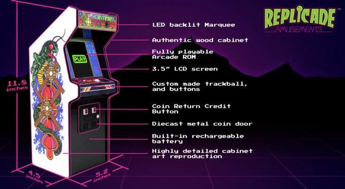 Mini Centipede Arcade Machine