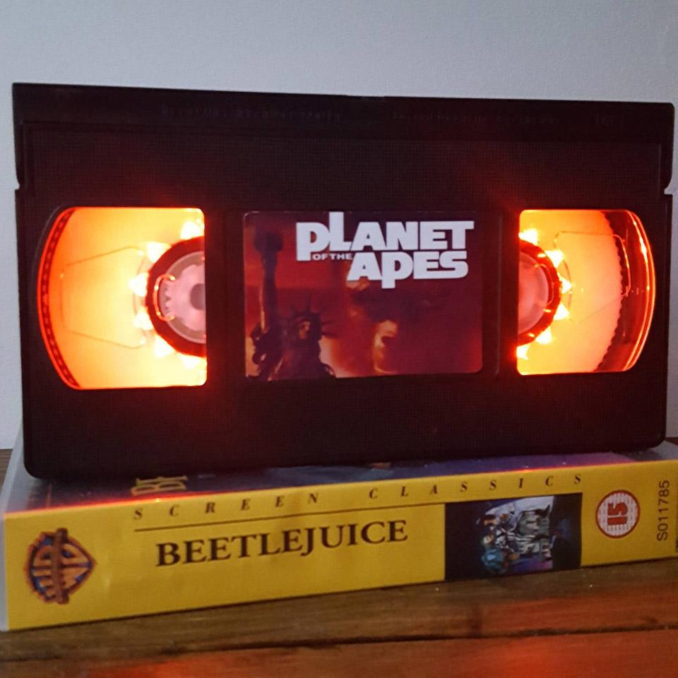 Retro VHS Night Lights
