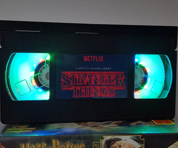 Retro VHS Night Lights