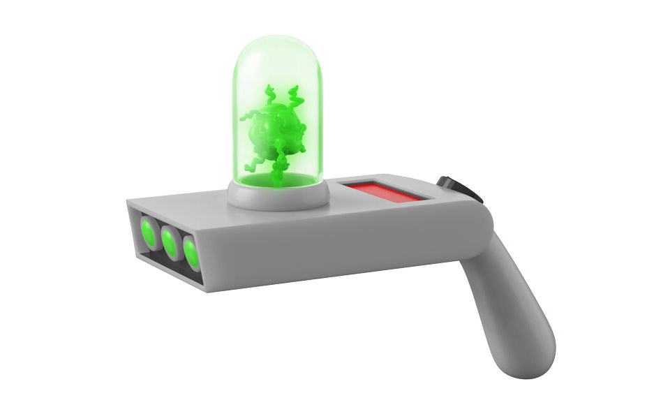 Rick and Morty Portal Gun