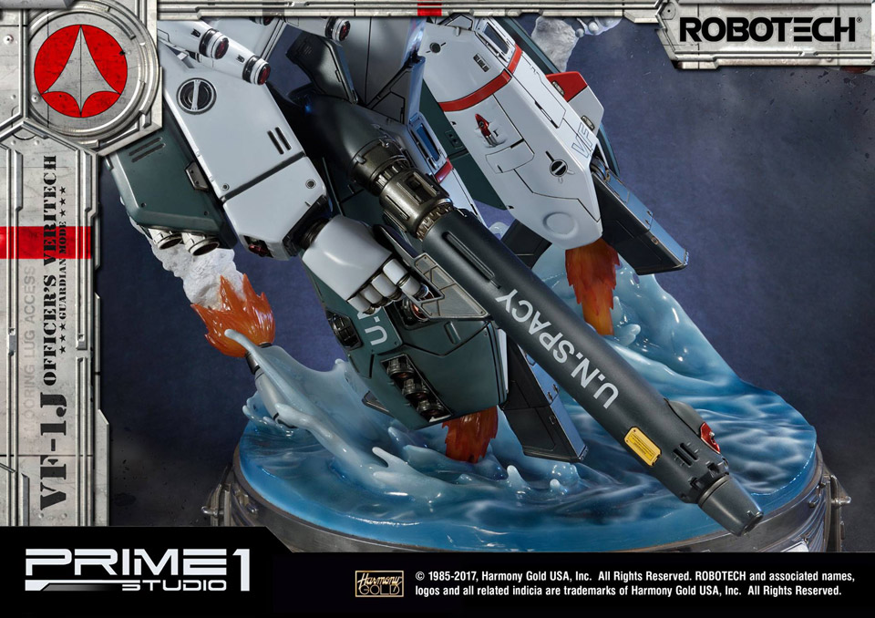 Robotech VF-1J Guardian Mode Statue