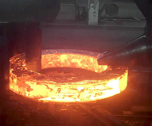 Rolling a Steel Ring