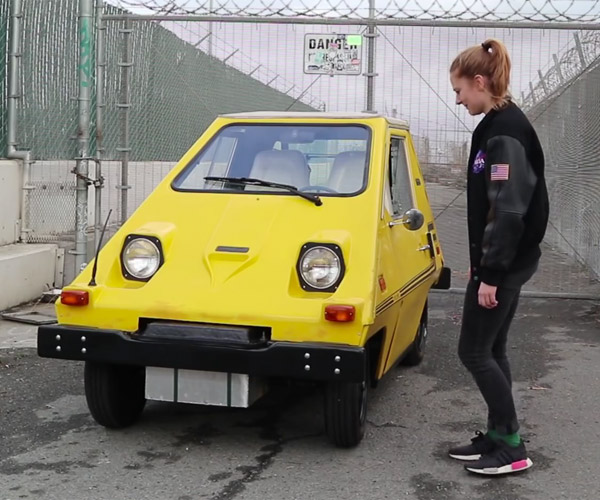 Simone Giertz's Electric Car