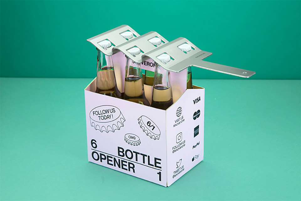 SIXOVERONE Bottle Opener