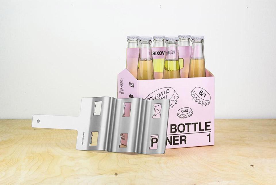 SIXOVERONE Bottle Opener