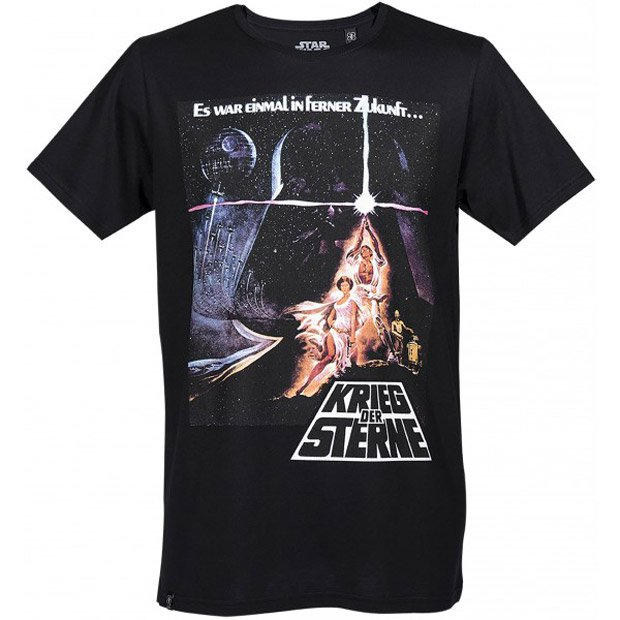 Star Wars International Poster T-shirts