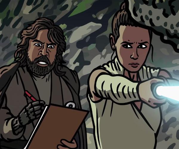 Star Wars: The Last Jedi Trailer Spoof